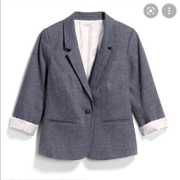 NWT KENSIE StitchFix Rebekah Plaid Blazer Jacket S